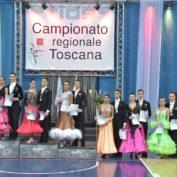 Novecento coppie per il Campionato Regionale di Danza Sportiva