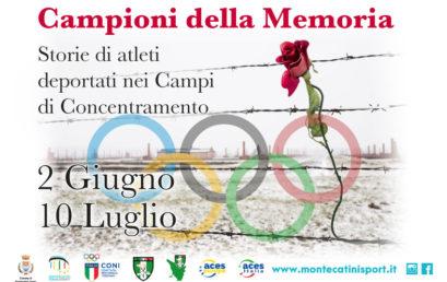 Mostra Campioni della Memoria: dal 2 giugno a Montecatini Terme