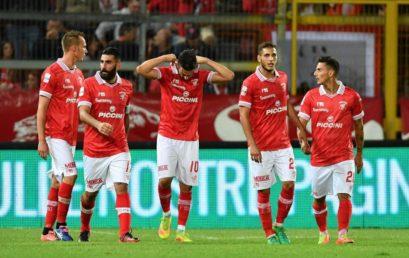 Il Perugia Calcio in visita in Municipio durante il ritiro in città