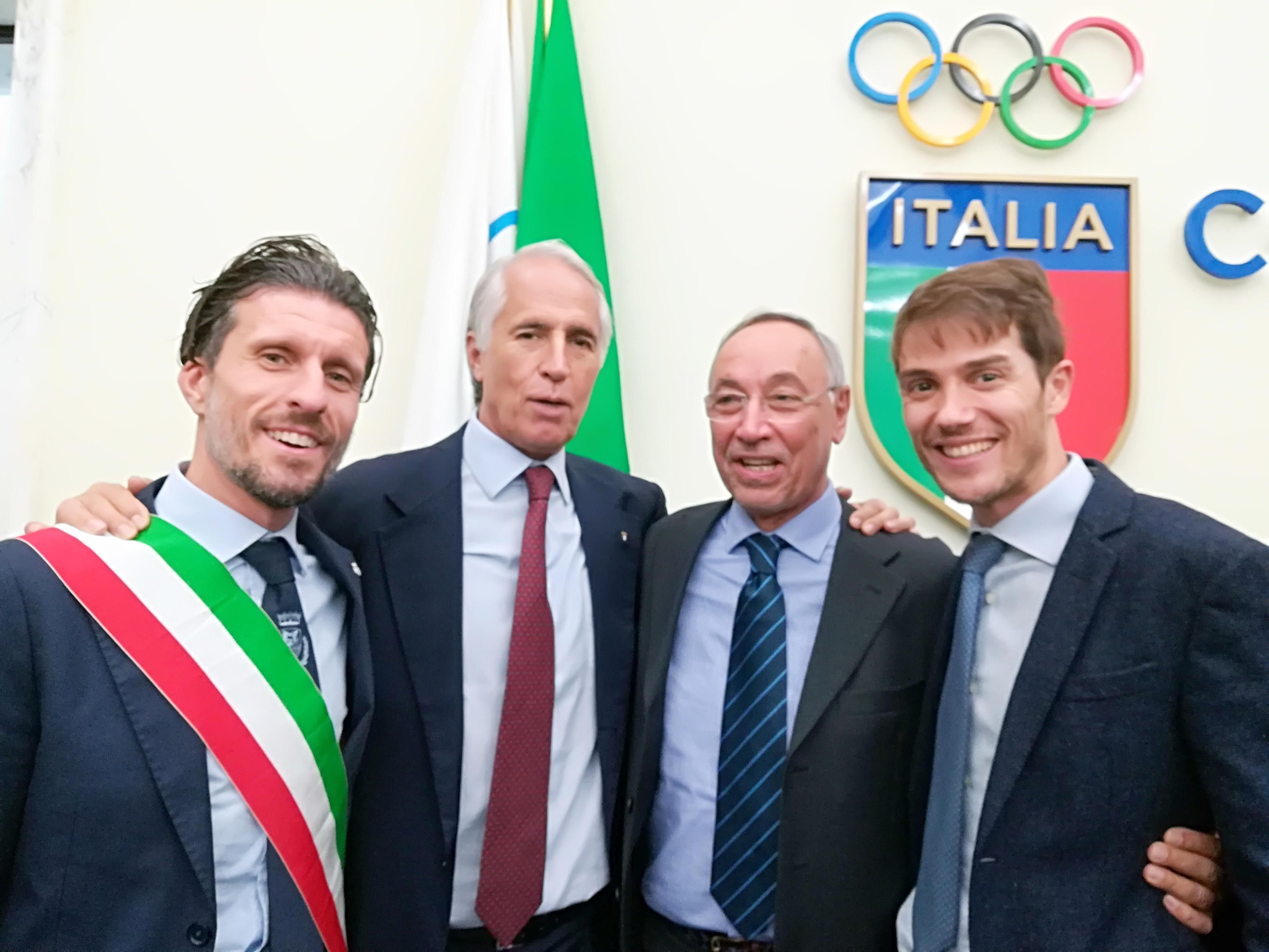 Montecatini Terme premiata dal Coni come Comune Europeo dello Sport 2017